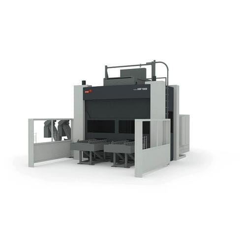 4-axis machining center / horizontal / with rotary table / for large workpieces