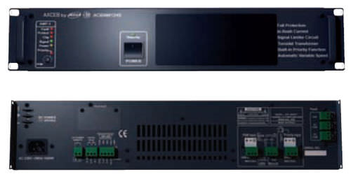 Audio amplifier / power / rack-mount / electronic ACBAM 1240 CAE GROUPE