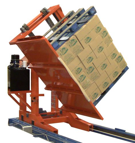 Electric tipping station / pallet / in-line A010 TECAUMA