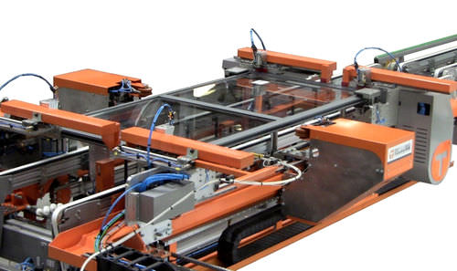 hydraulic clamping machine / for windows and doors