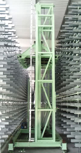 vertical automatic storage system / for flat products