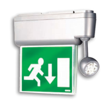 Surface-mounted emergency lighting / LED / waterproof STARTEC NET series  GEWISS