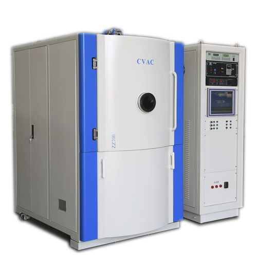 PVD deposition machine / magnetron sputtering / arc evaporation / for optoelectronics 750,900,1100,1300,1500 Sichuan Goldstone Orient New Material Equipment Co , Ltd
