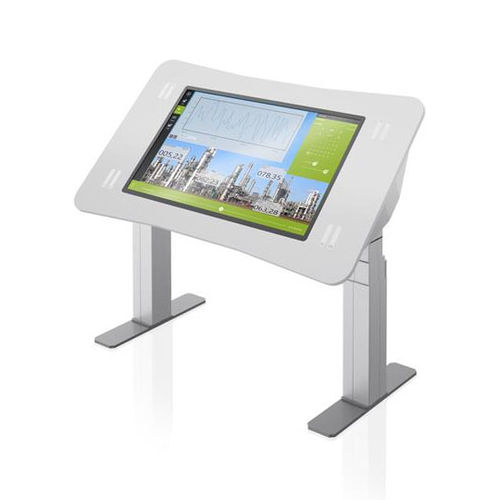 control terminal / with touch screen / floor-standing / robust