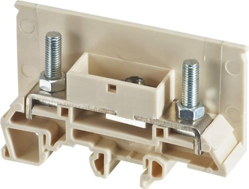 quick-connect terminal block / stud / DIN rail-mounted