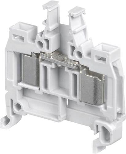 DIN rail-mounted terminal block / fused / IDC