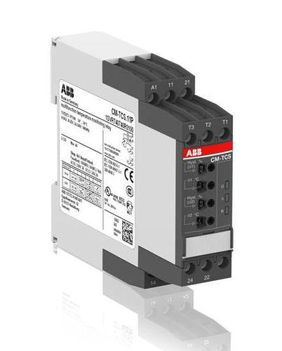 temperature monitoring relay / DIN rail