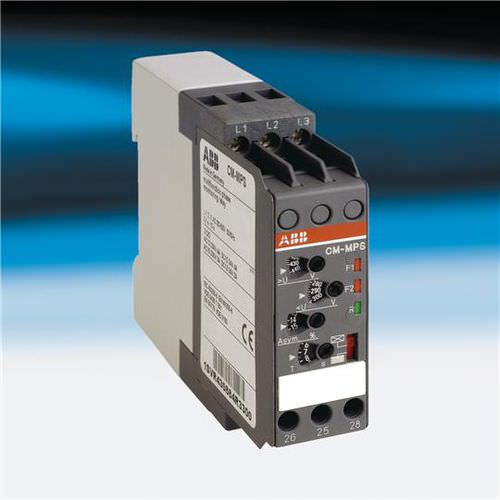 phase sequence monitoring relay / phase comparison / DIN rail