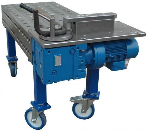 hydraulic bending machine / for tubes / mandrel