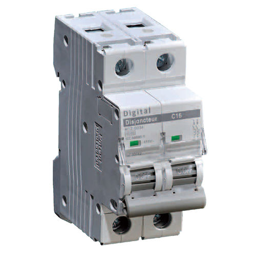 thermal-magnetic circuit breaker / short-circuit / AC / bipolar