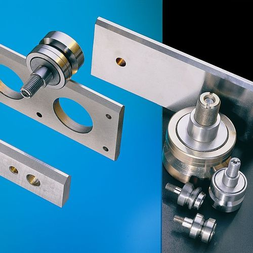 Skate wheel linear guide / profiled rail / stainless steel ALFATEC