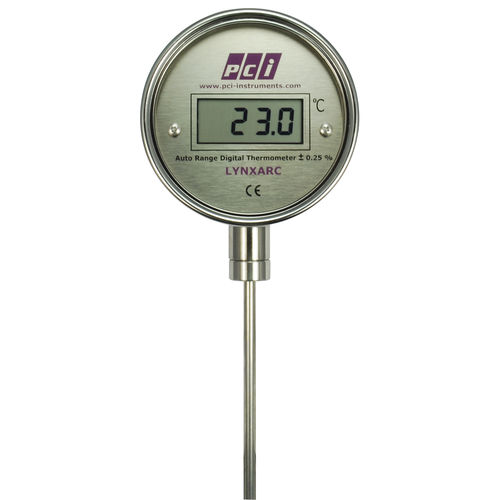 probe thermometer / digital / insertion / stainless steel