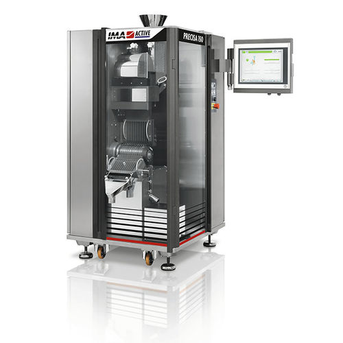 capsule checkweigher / for the pharmaceutical industry / compact