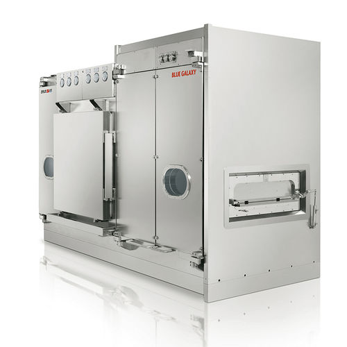 laboratory sterilizer / heat / horizontal / for the pharmaceutical industry