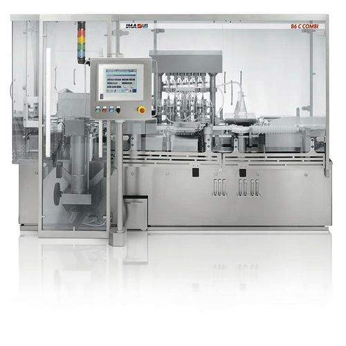 automatic filler and sealer / linear / ampoule