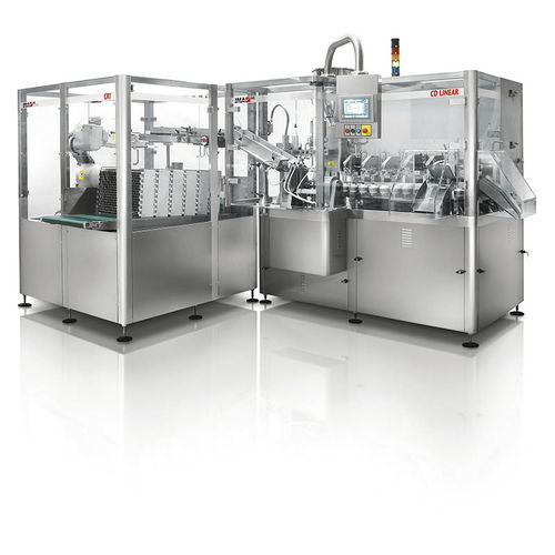 automatic filler-sealer / linear / for tubes