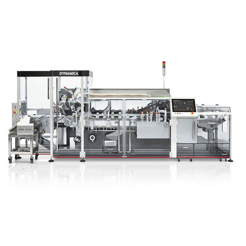 top-loading cartoner / for the medical industry / automatic / continuous-motion