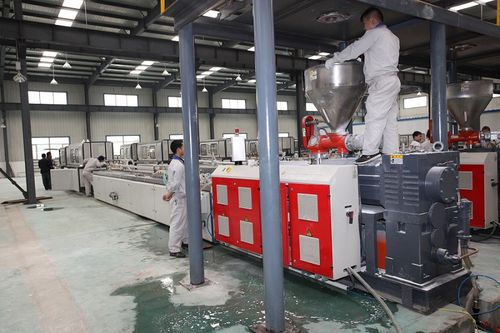 profile extrusion line - Jiangsu Xinrong Sinence & Technology Development Co,. Ltd.