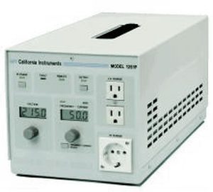 AC/AC power supply / tabletop / linear 135 - 270 V, max. 1.25 kVA | California Instruments P series AMETEK Programmable Power