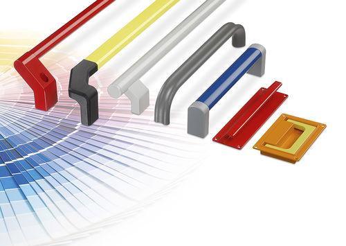 recessed handle / adaptable / door / aluminum