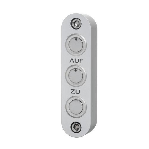 compact enclosure / rectangular / aluminum / control