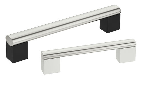 pull handle / transport / aluminum / stainless steel