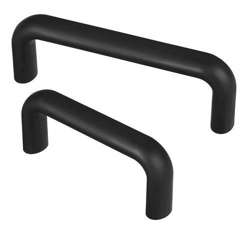 pull handle / door / aluminum / rubber