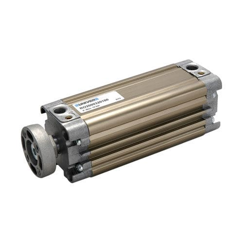pneumatic cylinder / double-acting / compact / standard