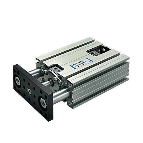 slide linear guide unit / for cylinders / track / compact