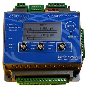 vibration monitoring system / for machines / continuous