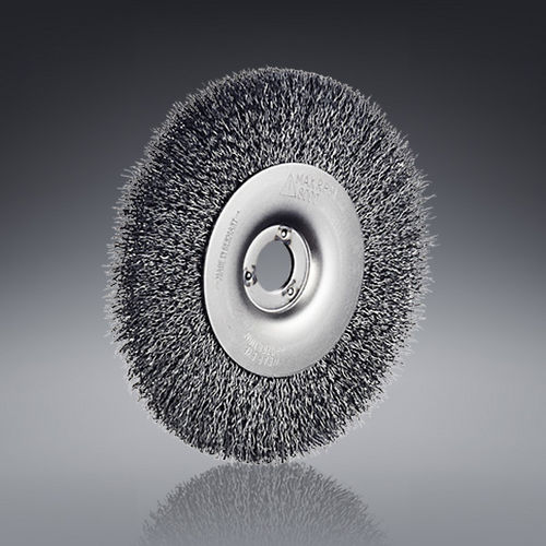 circular brush / cleaning / deburring / metal