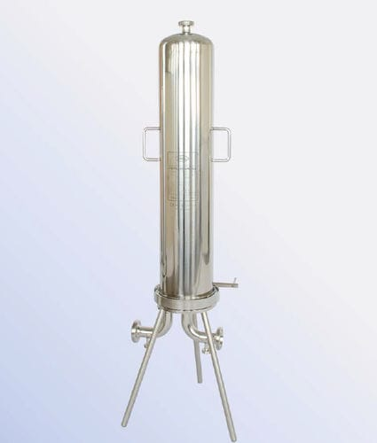 Liquid filter housing / multi-cartridge / stainless steel / sanitary FBT series PALL