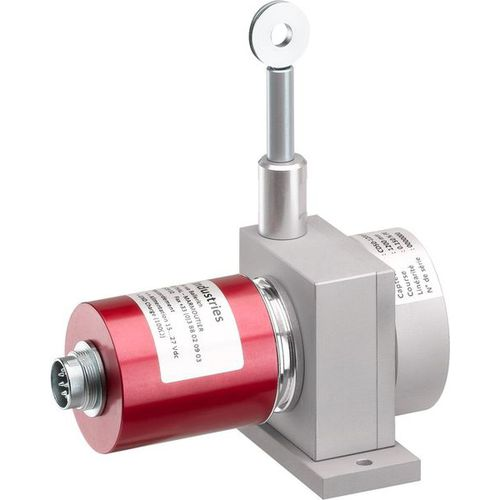 draw-wire position sensor / magnetic / potentiometer / mechanical