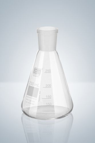 Erlenmeyer flask / borosilicate glass