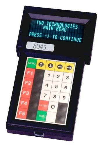 Handheld hand-held terminal / rugged 4 x 20 char, max. 57 600 pbs | 80 series TWO TECHNOLOGIES