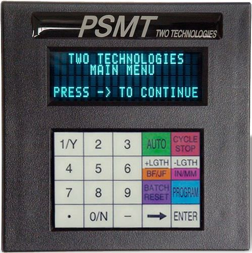 Operator terminal with keyboard / built-in / display 4 x 20 char, max. 115.2 kbps | PSMT TWO TECHNOLOGIES