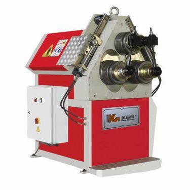 hydraulic rolling machine / for tubes / bending