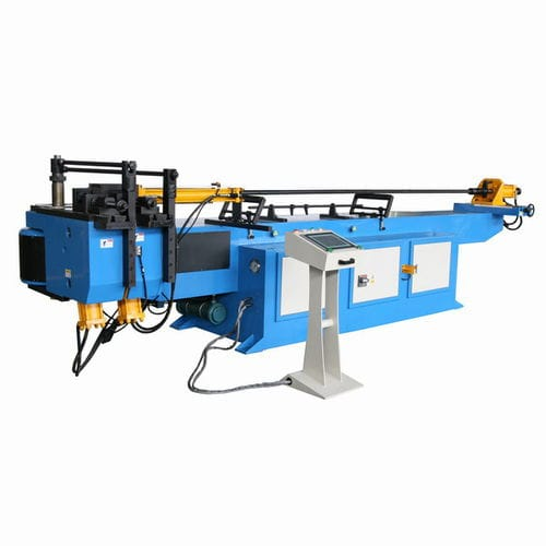 hydraulic bending machine / for tubes / semi-automatic / precision