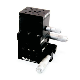 XYZ positioning stage / manual / micrometer LSSZ-03-10 Jiangxi Liansheng Technology Co., Ltd.