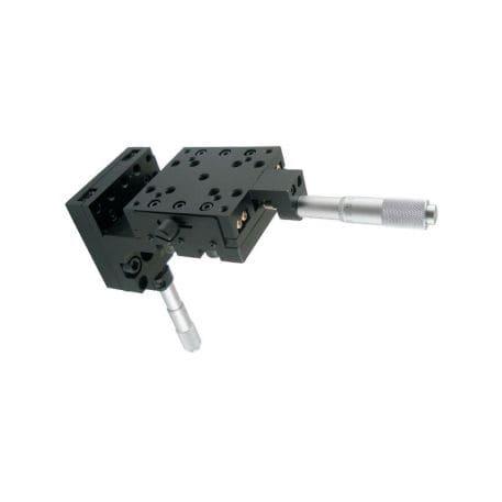 Linear positioning stage / manual / 2-axis / micrometer LSSZ-02-14 Jiangxi Liansheng Technology Co., Ltd.
