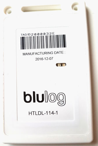 temperature data-logger / humidity / wireless / NFC
