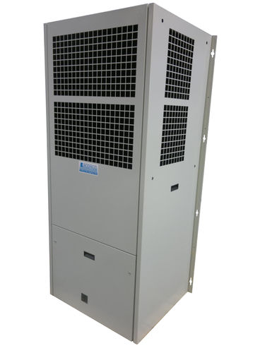 side-mount electrical cabinet air conditioner / for telecommunication equipment / outdoor