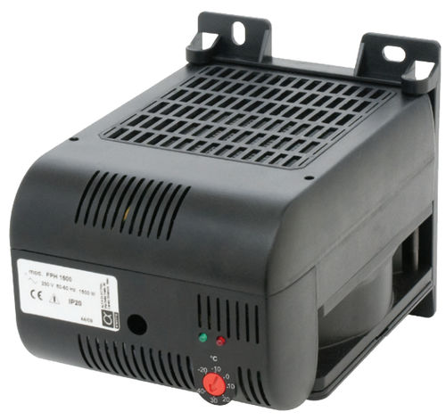 PTC resistance heater / compact / for electrical cabinets