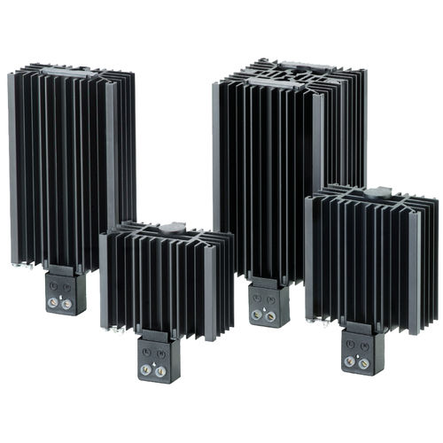 PTC resistance heater / fanless / compact / for electrical cabinets