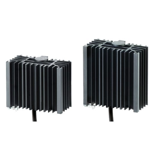 PTC resistance heater / silicone / for electrical cabinets / fanless