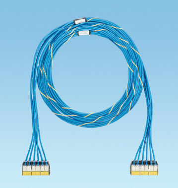copper-coated cable harness
