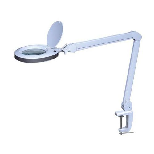 LED light magnifier / articulated arm