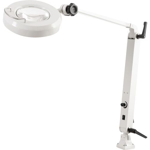LED light magnifier / articulated arm / inspection