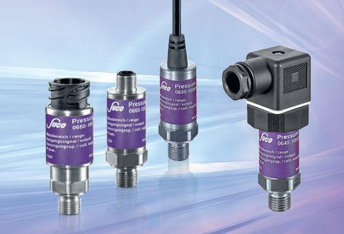 vacuum pressure transmitter / piezoresistive / with analog output / threaded