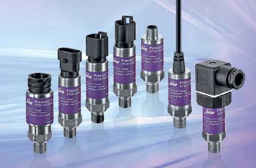 relative pressure transmitter / membrane / analog / threaded
